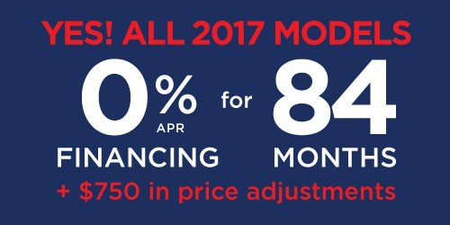 Yes! All 2017 New Models!