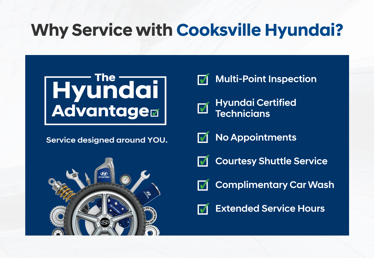Why Service with Cooksville Hyundai?