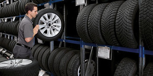 Climate-Controlled Tire Storage