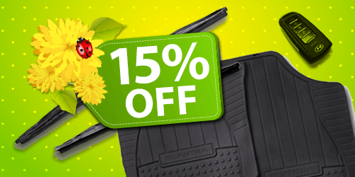 15% OFF Accessories & Wiper Blades!