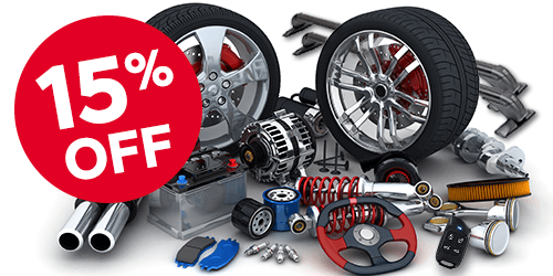 15% Off Parts & Labour