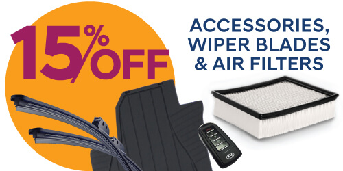 Accessories, Wiper Blades & Air Filters