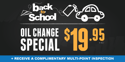 Cooksville Oil Change Special