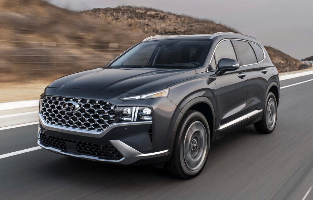 New Look, New Ride - The 2021 Hyundai Santa Fe