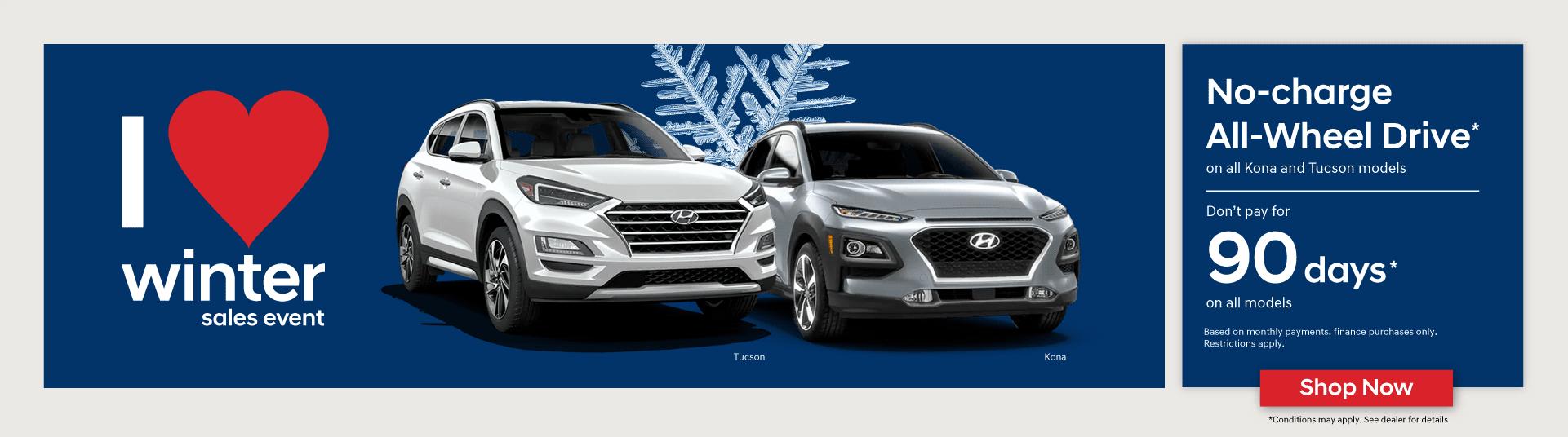 Hyundai I Love Winter Sales Event in Mississauga