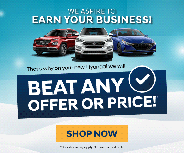 Beat any offer or price