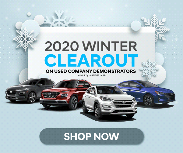 Cooksville Hyundai 2020 Clearout
