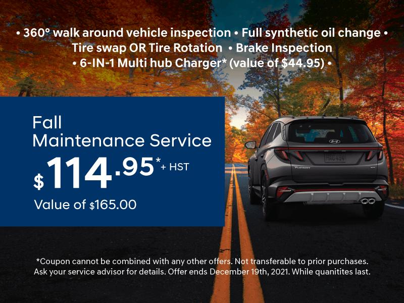 Fall Maintenance Service